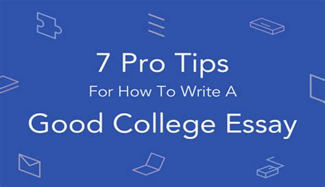 How to write a good essay for middle school