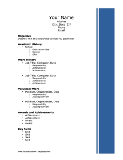 What is the format for references on a resume